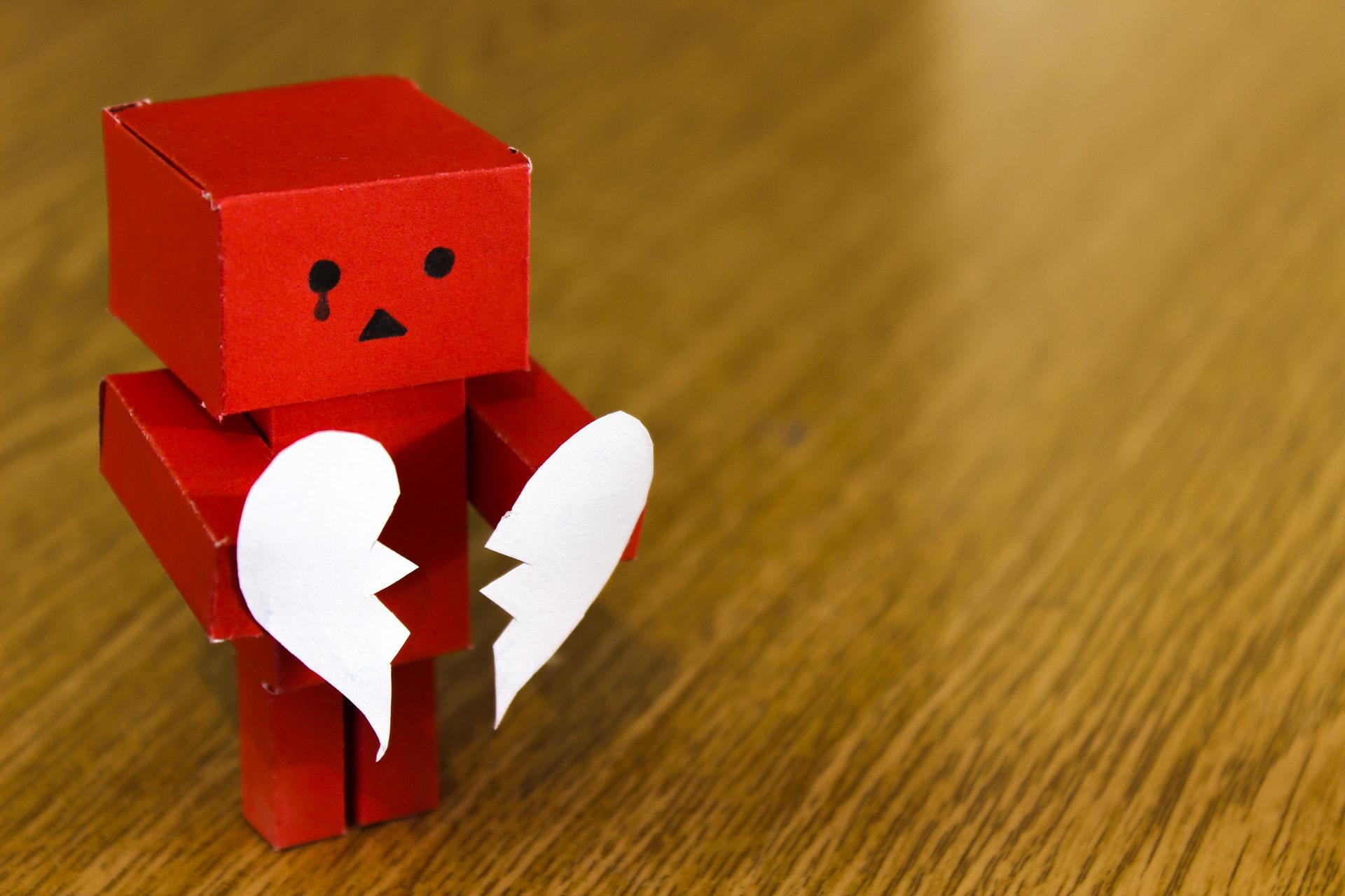 Dificuldade em demonstrar sentimentos